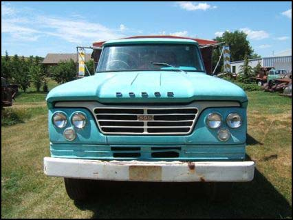 1962 Dodge Truck Sweptline Truck
