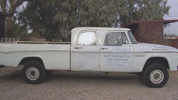 1965 dodge truck crew cab