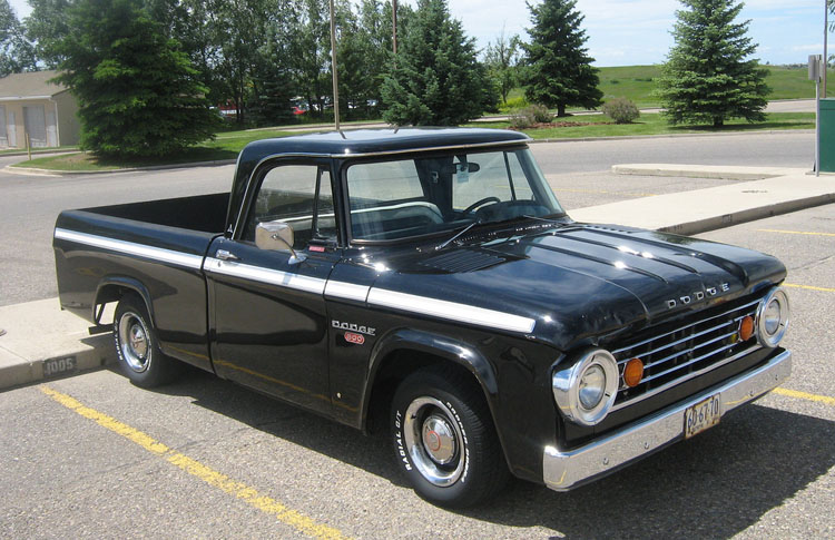 1966 Dodge Truck Sweptline Truck